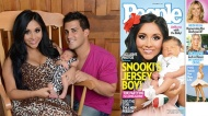 Snooki Reveals Baby Lorenzo in People Magazine